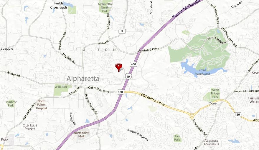 Eastwood Community Map Location Alpharetta
