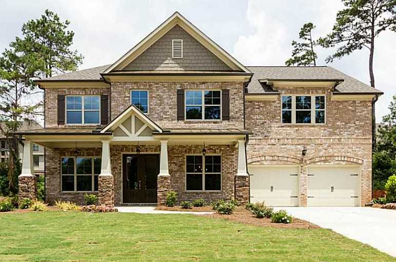 Alpharetta Home In Acadia Woodland Cove