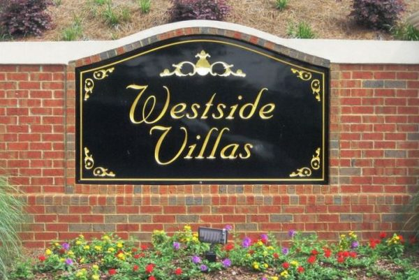 Alpharetta Townhome Community Of Westside Villas
